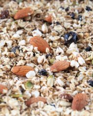 Panache! muesli close up