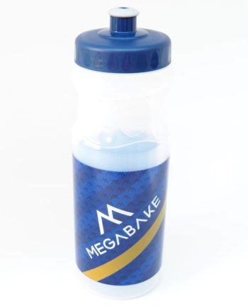 Megabake water bottle front